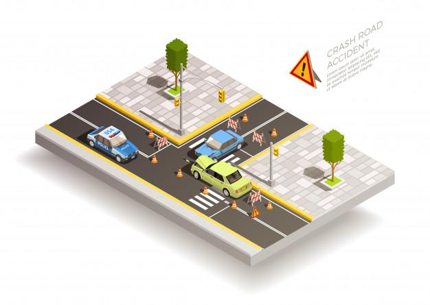 تصادفات رانندگی در امتحان رانندگی
