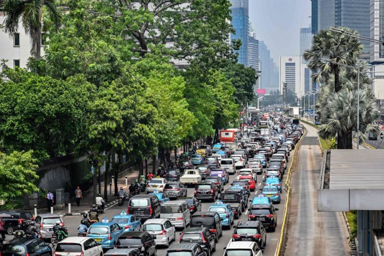 رانندگی در راه های اندونزی