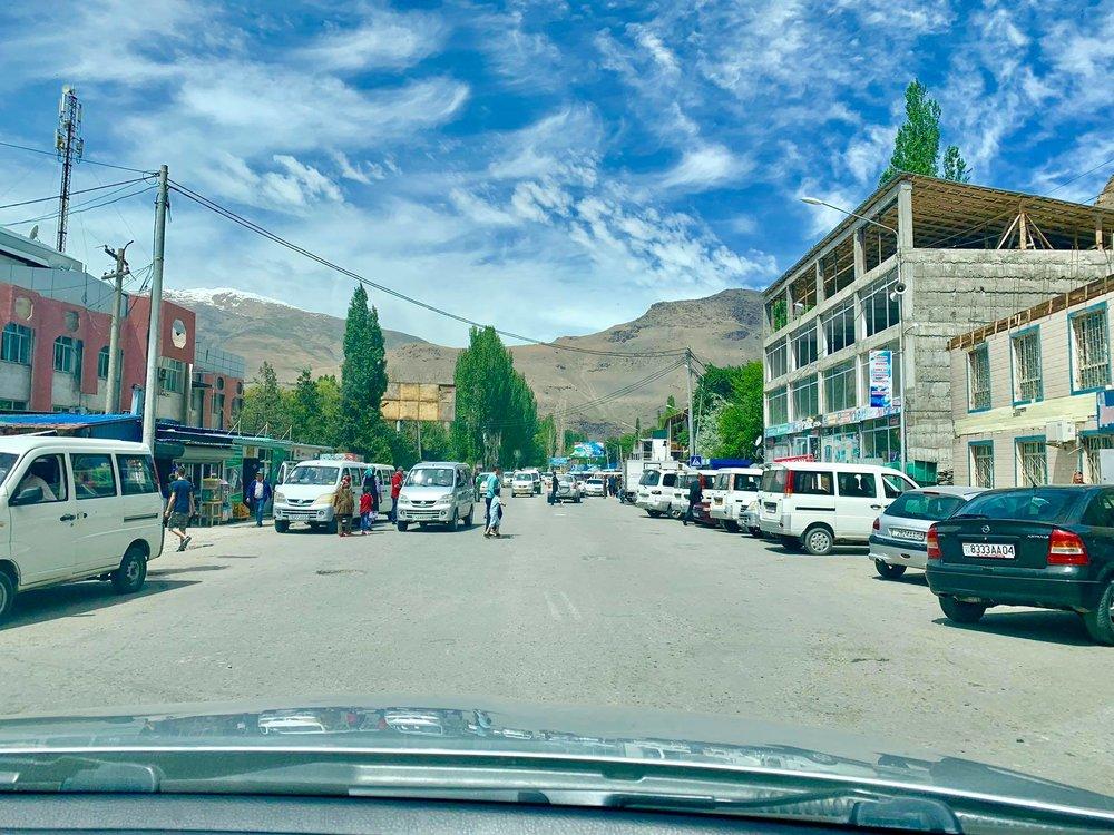 رانندگی در شهر های  تاجیکستان