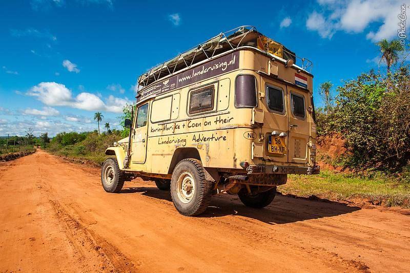 رانندگی در پاراگوئه