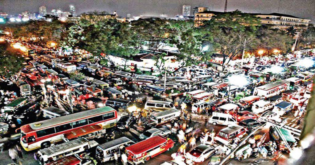 رانندگی در شهر های پاراگوئه