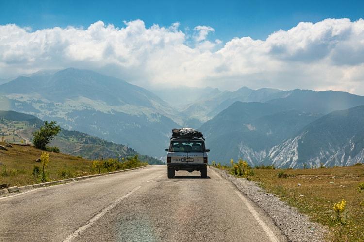 رانندگی در کشور آلبانی