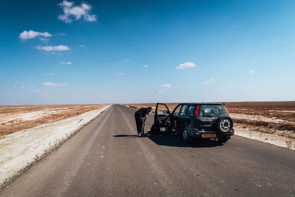 رانندگی در راه های آلبانی