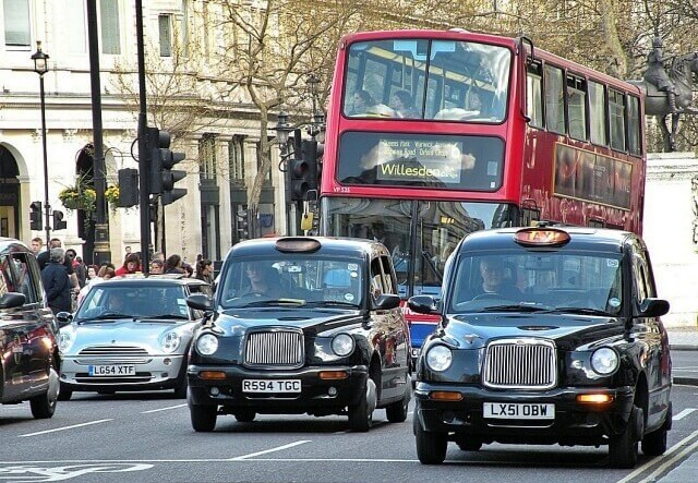رانندگی در لندن