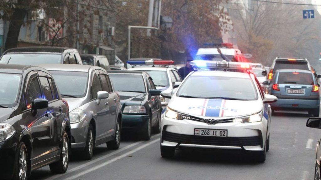 رانندگی در شهر ایروان
