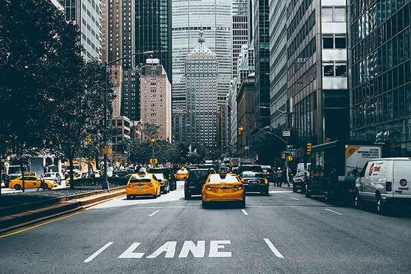 رانندگی در شهر نیویورک