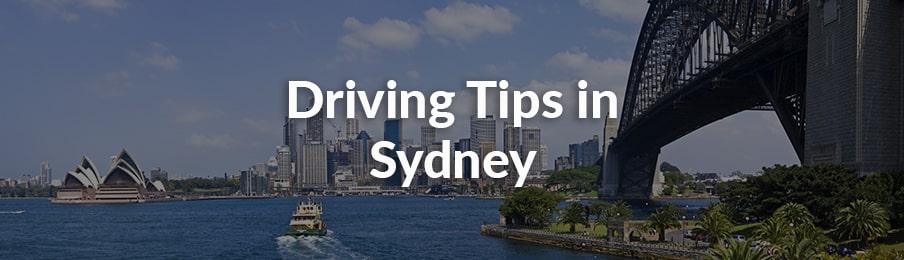 رانندگی در سیدنی
