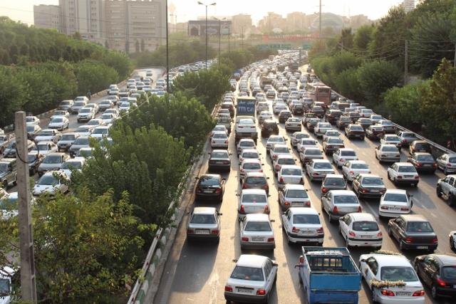 رانندگی در تهران