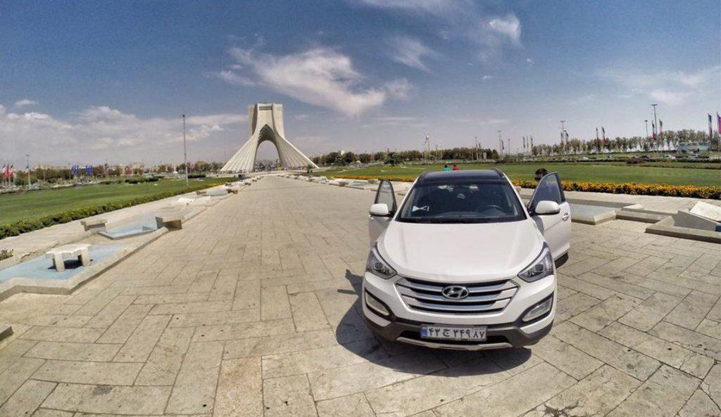 رنت خودرو در شهر تهران